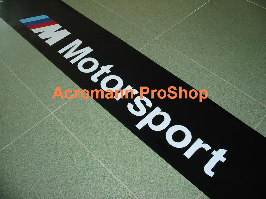 M Motorsport Windshield Decal (Style#1)