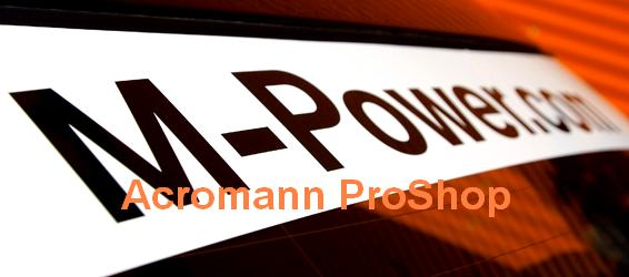 M-Power.com Windshield Decal