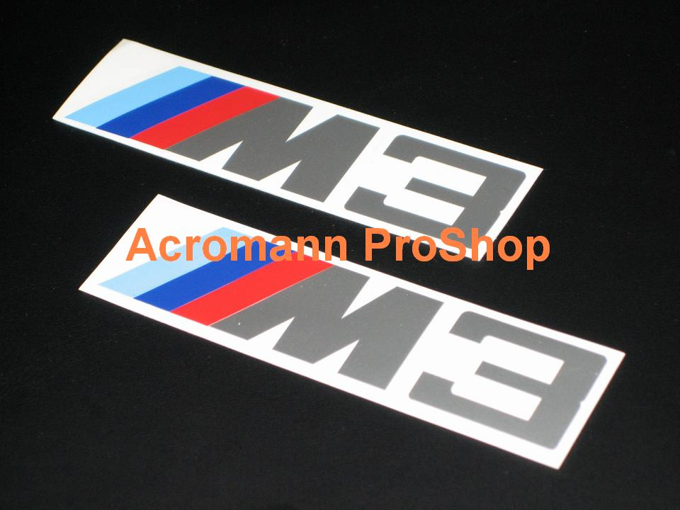 M3 4inch Decal (Style#1) x 2 pcs