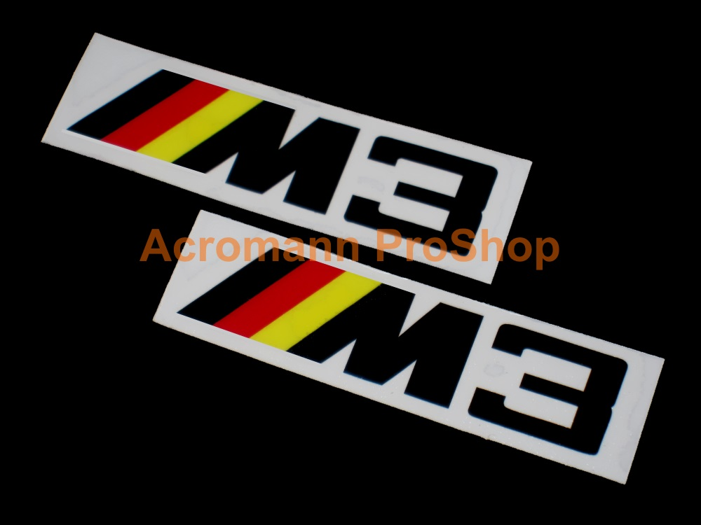 M3 4inch Decal (Style#2) x 2 pcs