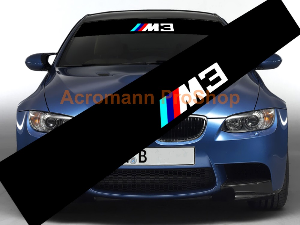 M3 Windshield Decal (Style#1)