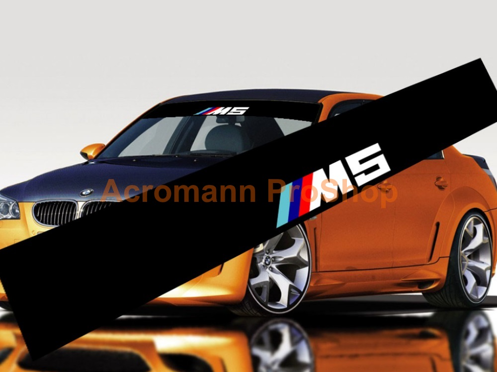 M5 Windshield Decal (Style#1)