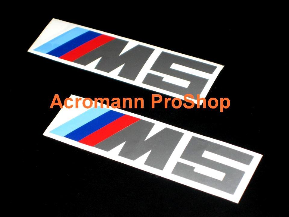 M5 4inch Decal x 2 pcs
