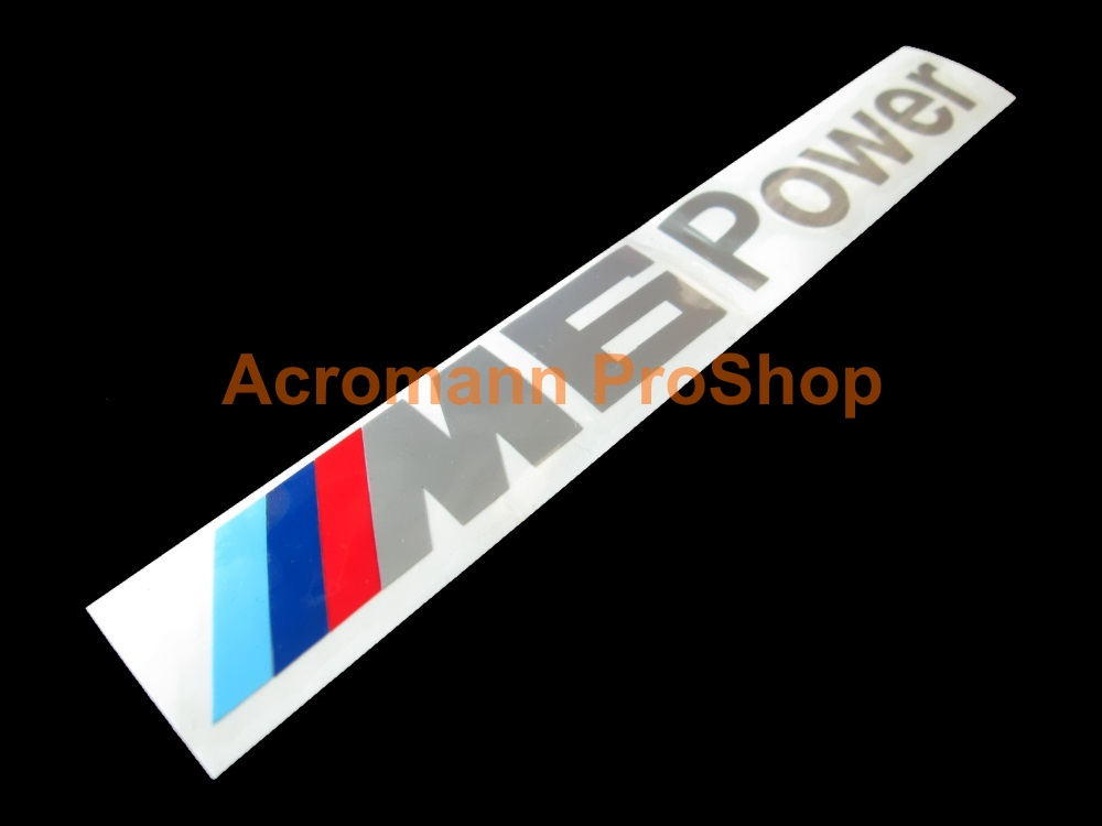 M6 Power Windshield Decal (Style#1)