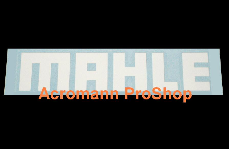 MAHLE 6inch Decal (Style#1) x 2 pcs