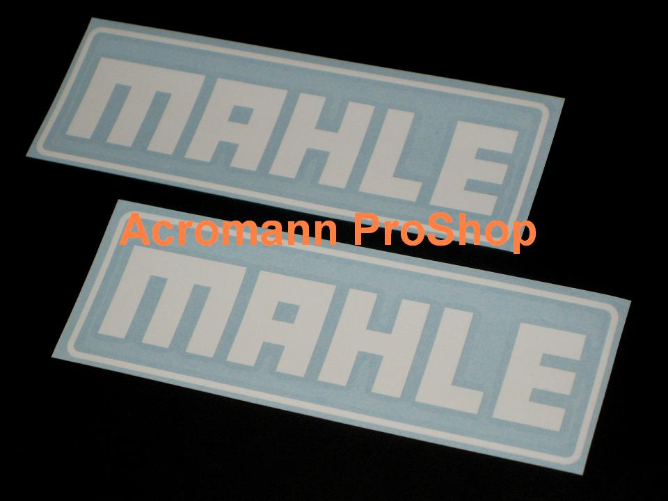 MAHLE 6inch Decal (Style#2) x 2 pcs