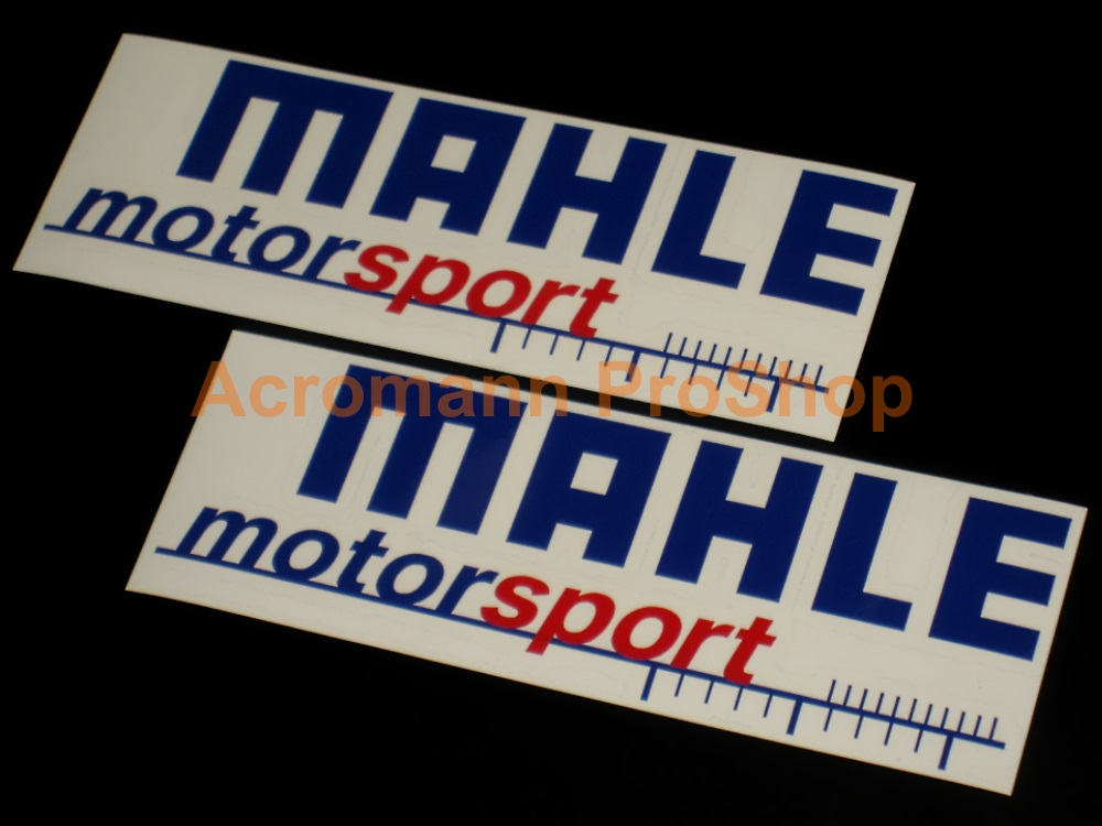 MAHLE motorsport 6inch Decal x 2 pcs