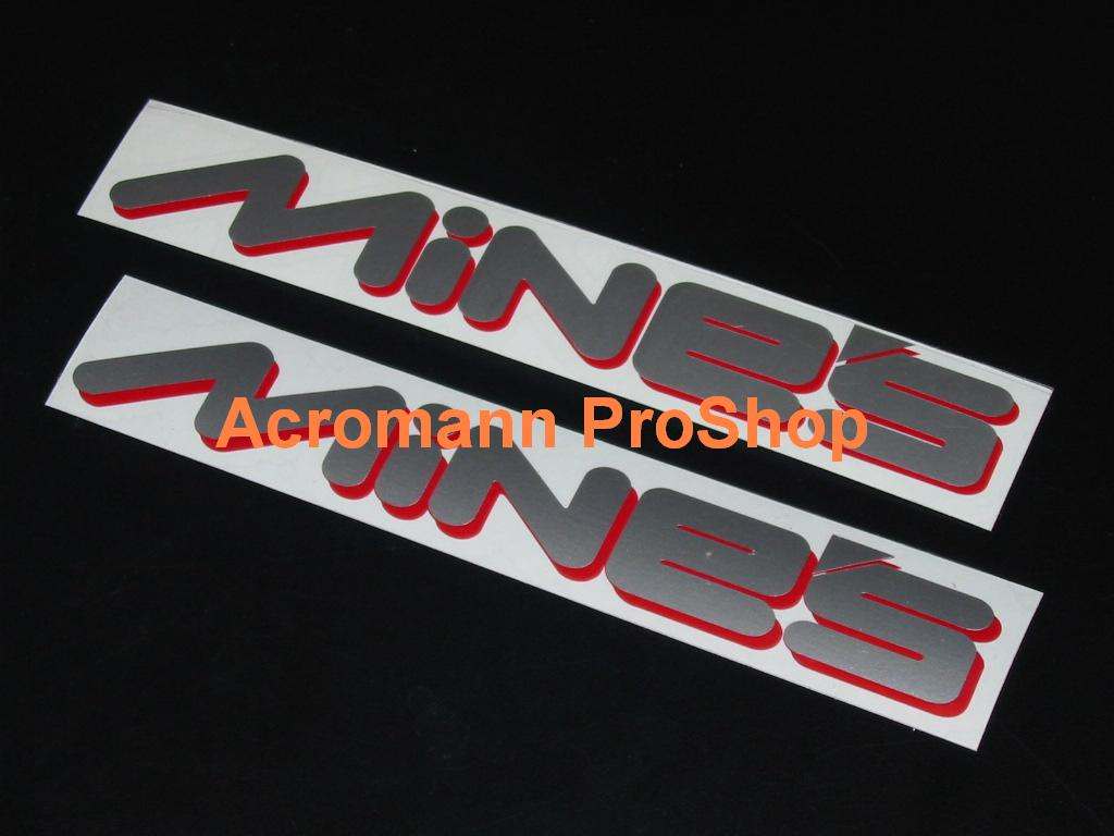 MiNE'S 6inch Decal (Style#1) x 2 pcs