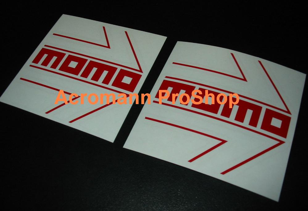 MOMO 6inch Decal (Style#1) x 2 pcs