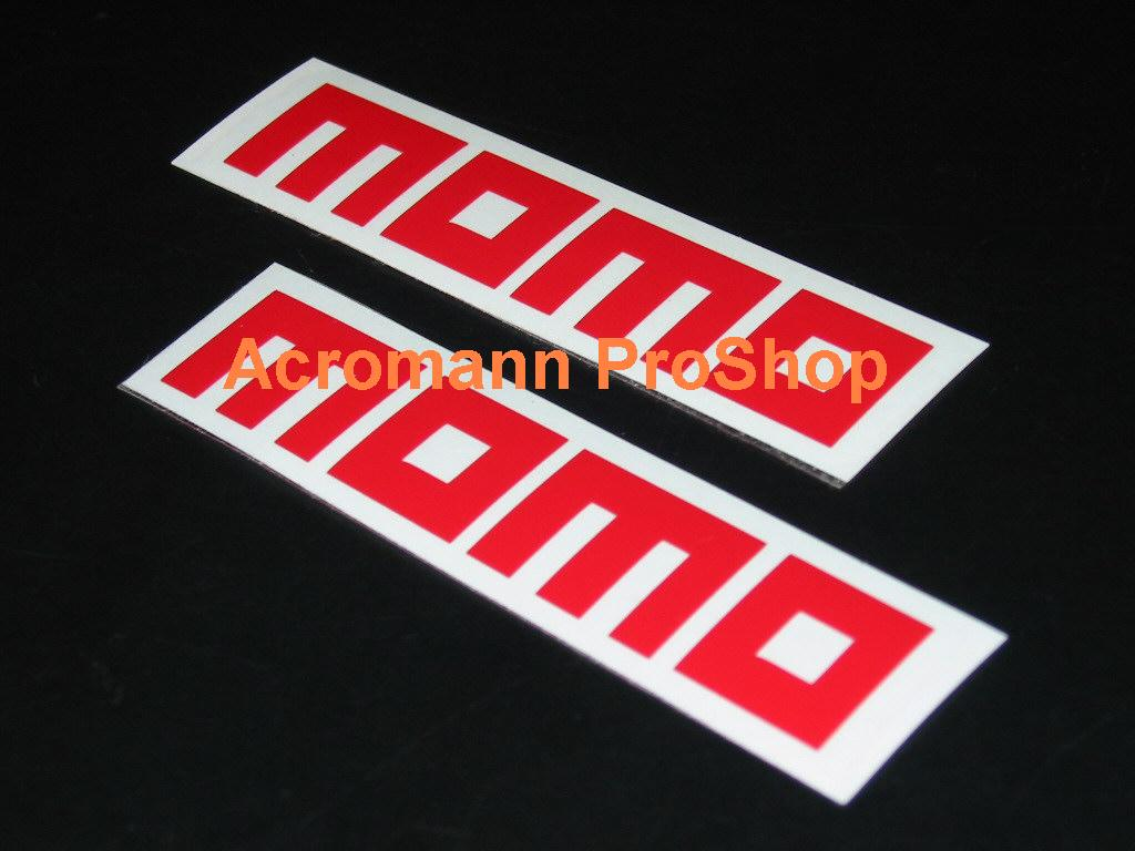 MOMO 6inch Decal (Style#2) x 2 pcs