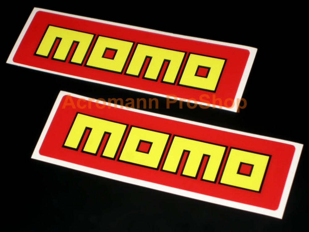 MOMO 6inch Decal (Style#3) x 2 pcs
