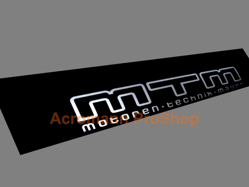 MTM Windshield Decal (Style#5)