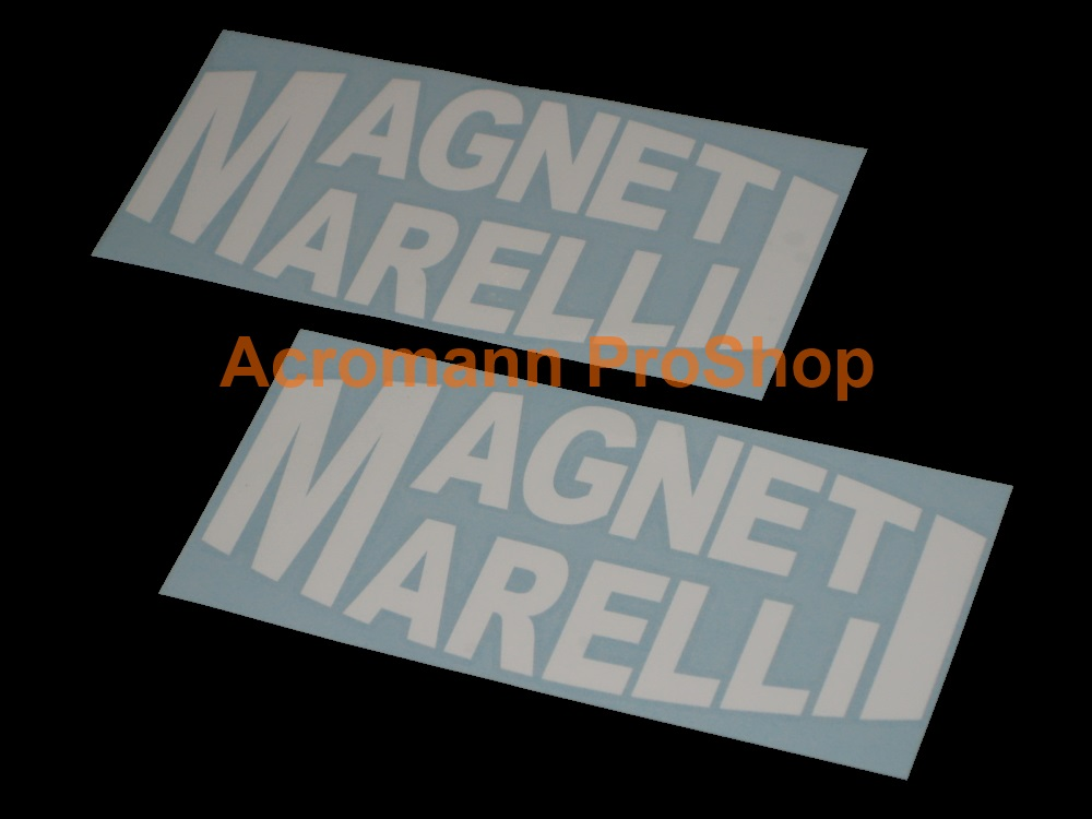Magneti Marelli 6inch Decal (Style#2) x 2 pcs