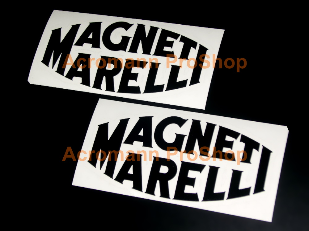 Magneti Marelli 6inch Decal (Style#1) x 2 pcs