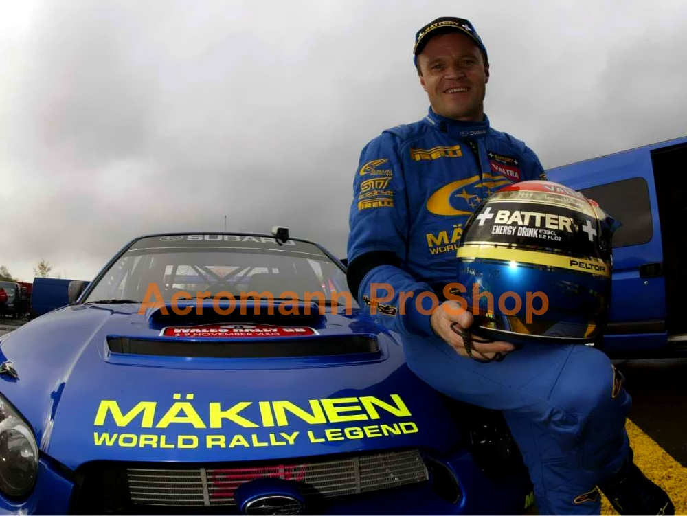 SWRT Makinen World Rally Legend Bonnet Decal x 1 pc
