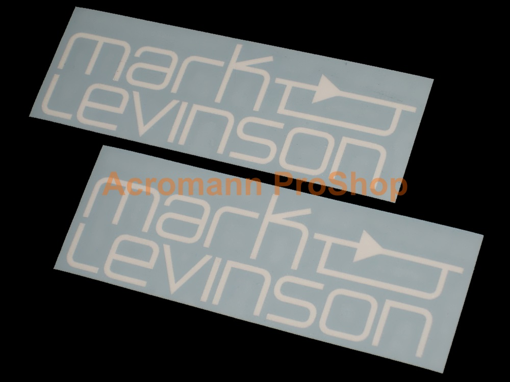 Mark Levinson 6inch Decal x 2 pcs