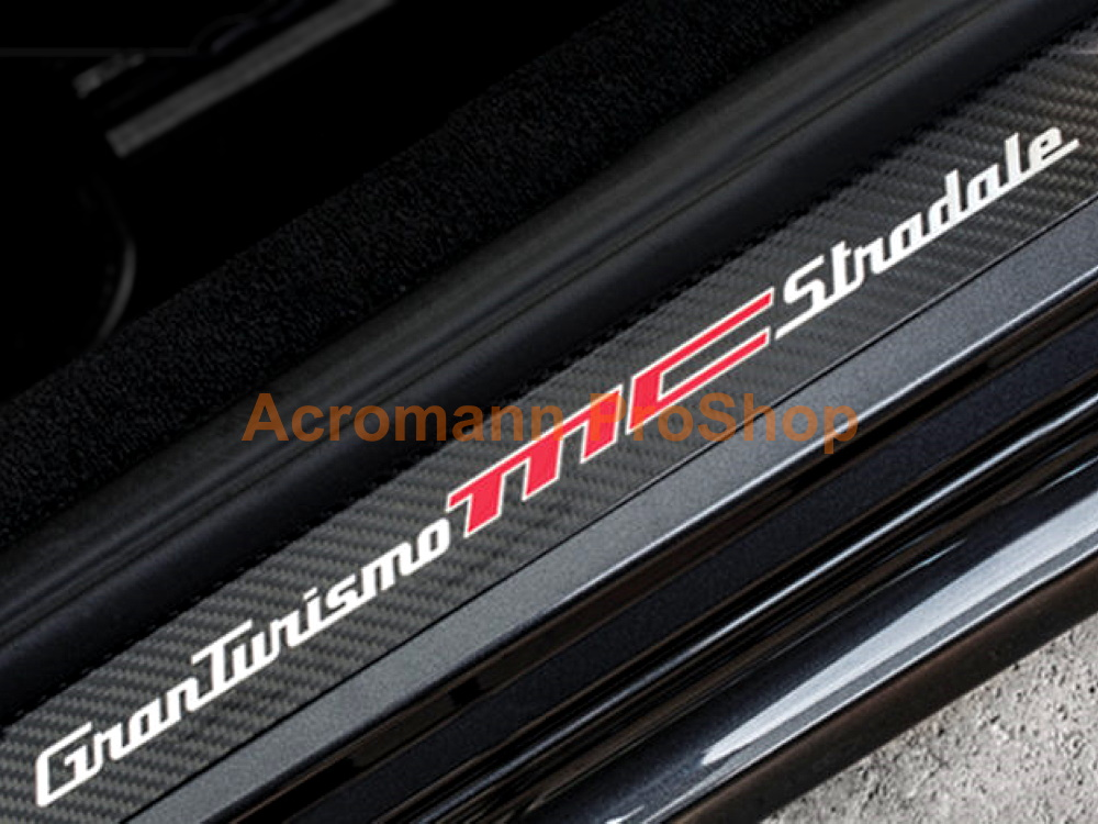 Maserati GranTurismo MC Stradale Side Door Sill Plate Decal x 2