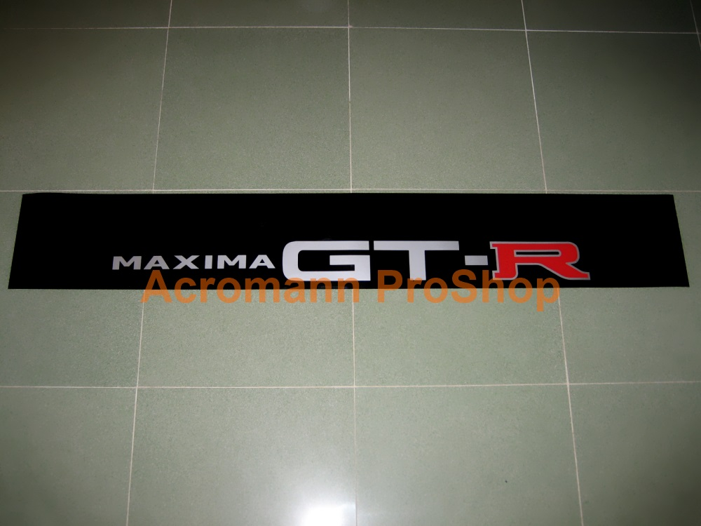 Maxima GTR (GT-R) Windshield Decal