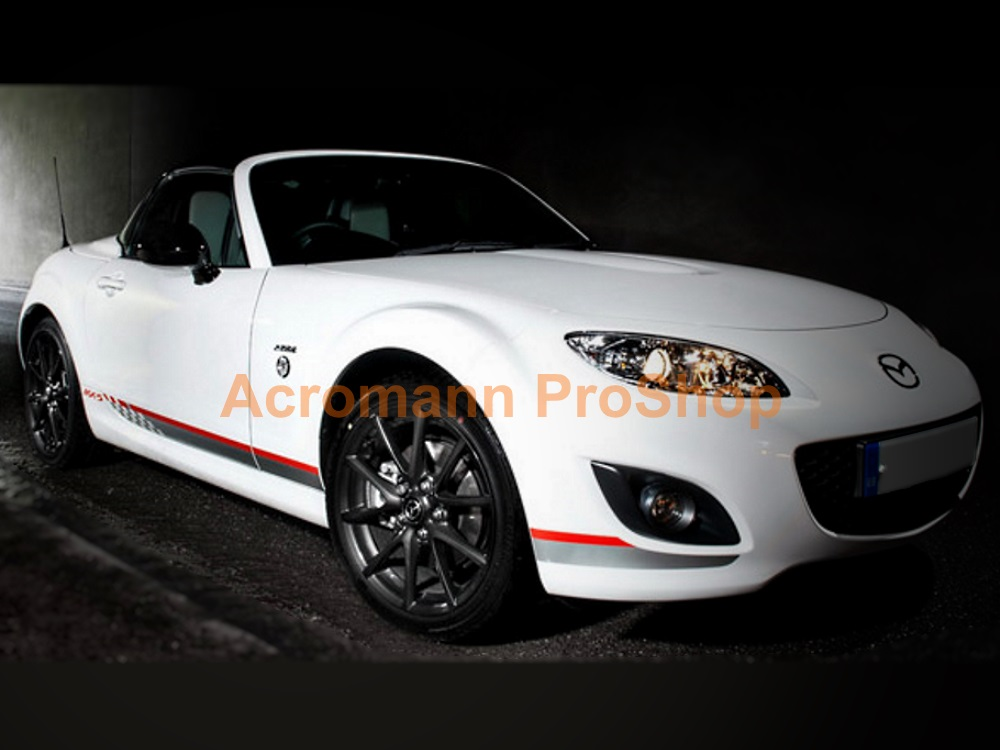 Mazda MX-5 Miata Side Stripe Door Decal (Style#23) x 1 pair