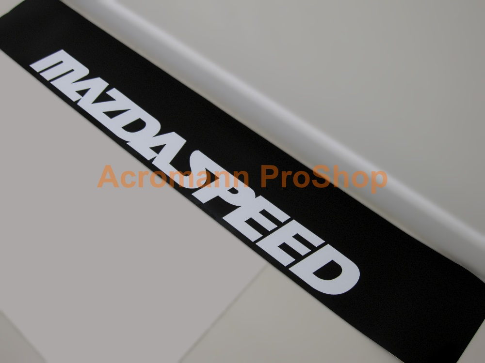 MAZDASPEED Windshield Decal (Style#4)
