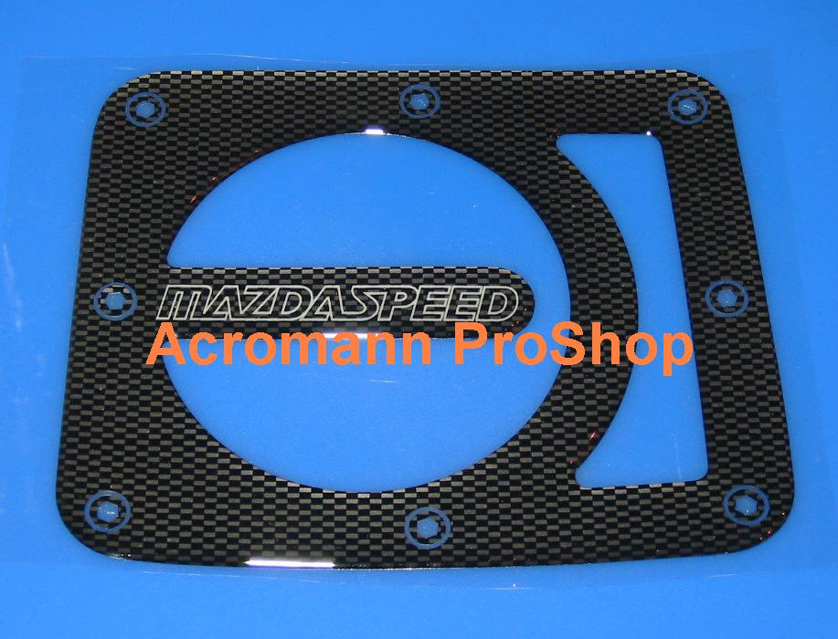 MAZDASPEED Carbon Gas Door Emblem (Style#1)