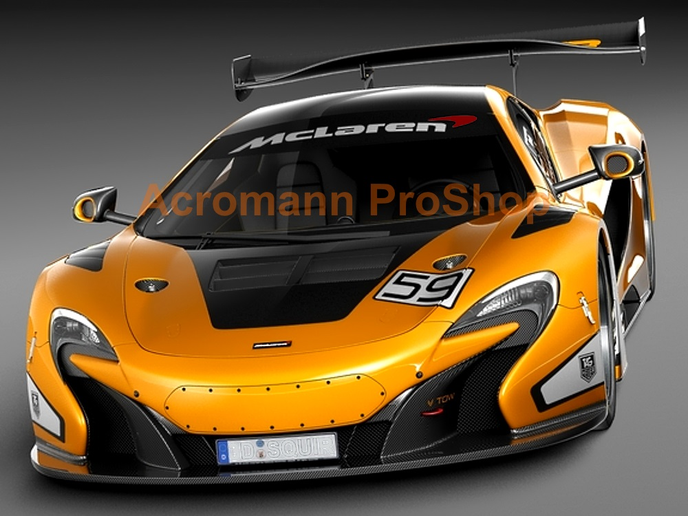 McLaren Windshield Decal (Style#2)