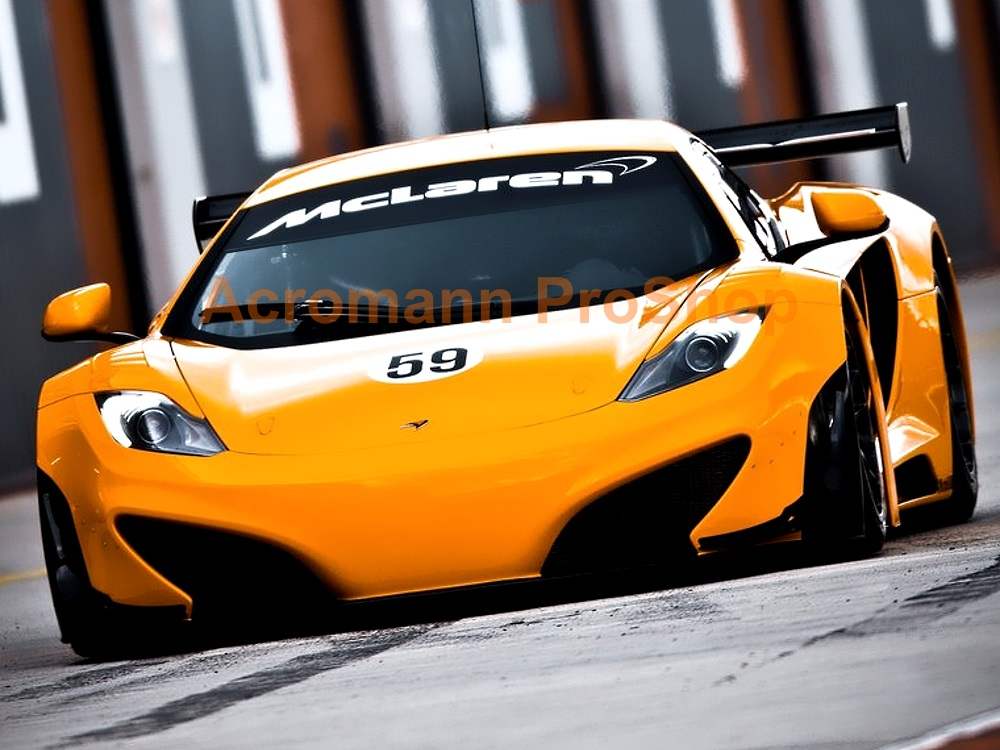 McLaren Windshield Decal (Style#1)