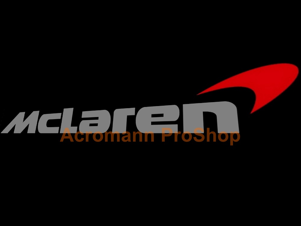 McLaren Windshield Decal (Style#3)