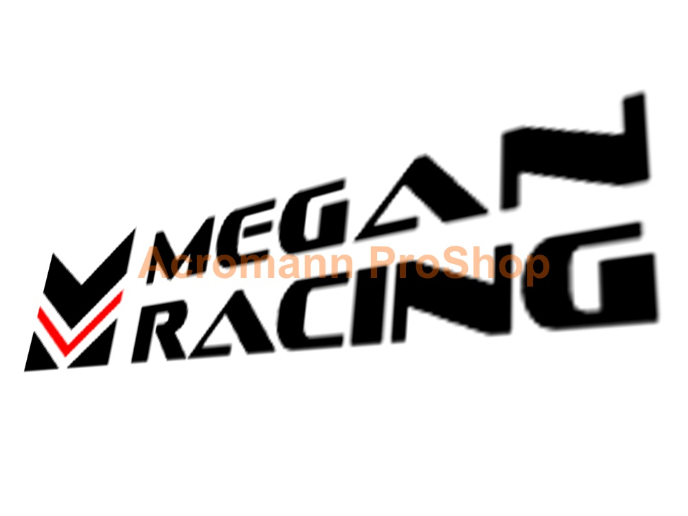 Megan Racing 6inch Decal (Style#2) x 2 pcs