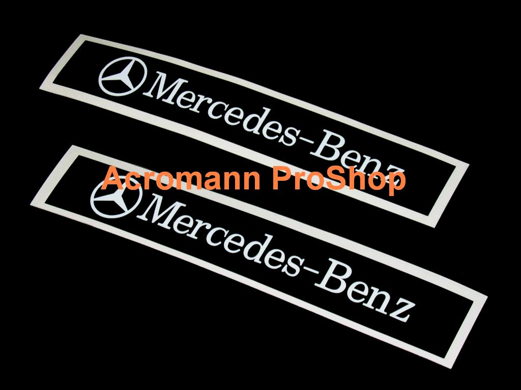 Mercedes-Benz 6inch Decal (Style#2) x 2 pcs