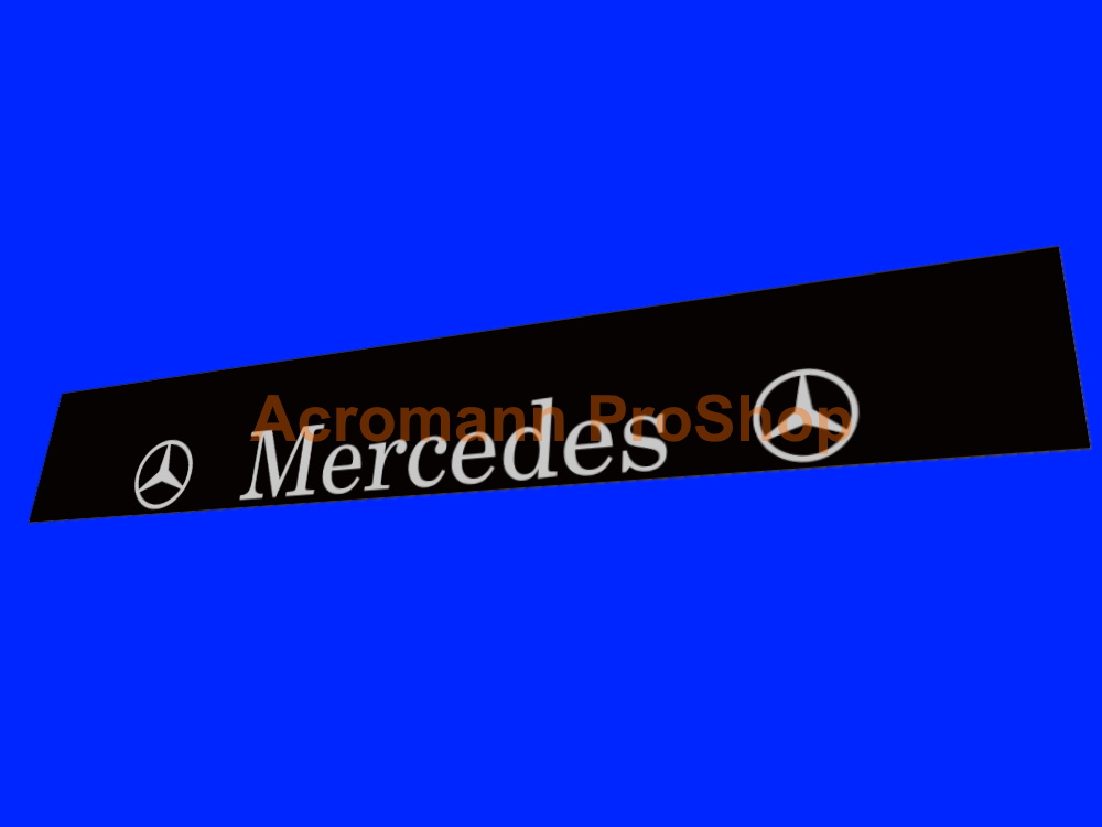 Mercedes-Benz Windshield Decal (Style#4)