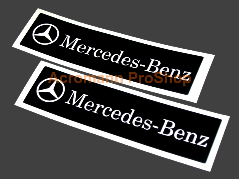 Mercedes-Benz 6inch Decals Stickers (Style#3) x 2 pcs