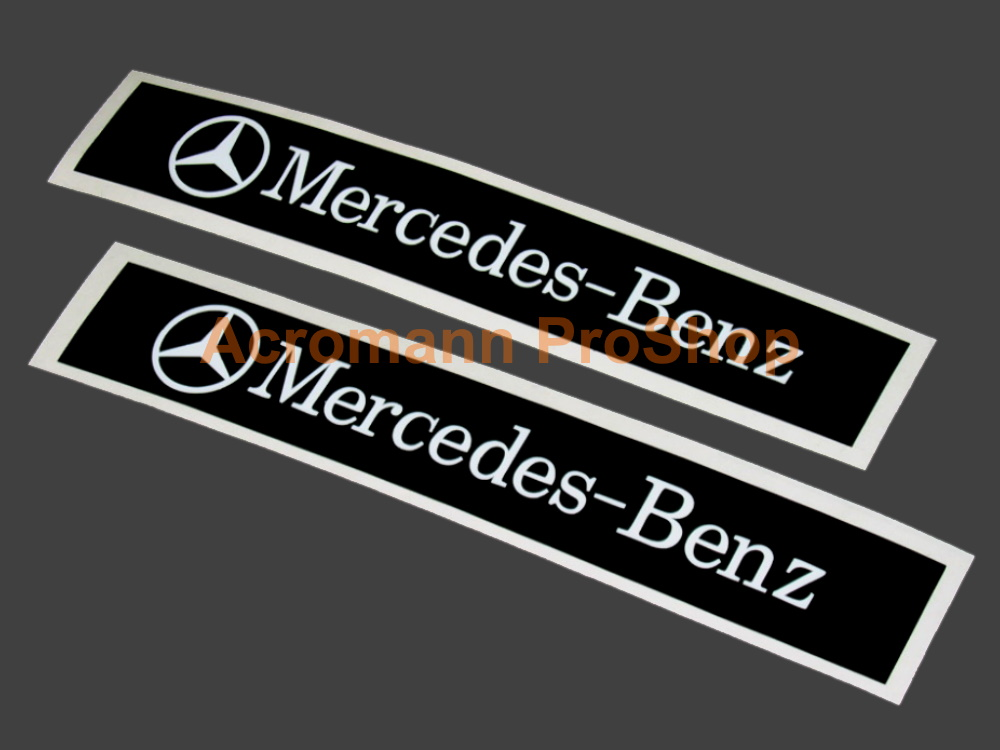Mercedes-Benz 6inch Decals Stickers (Style#2) x 2 pcs