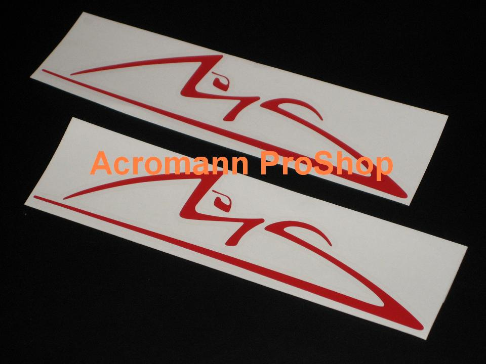 Michael Schumacher 6inch Decal x 2 pcs