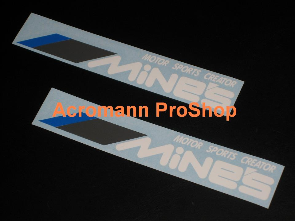 MiNE'S 6inch Decal (Style#3) x 2 pcs