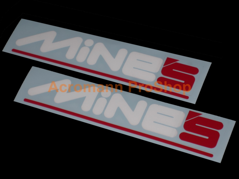 MiNE'S 6inch Decal (Style#8) x 2 pcs