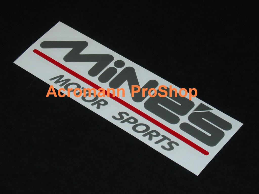 "Pauter Rods Decal Sticker Die Cut 2x 8/"" wide"