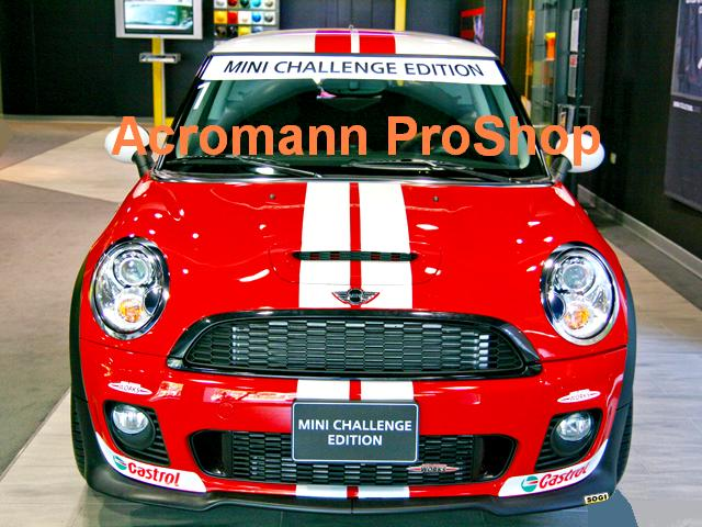MINI CHALLENGE Style Bonnet Stripes x 1 pair (middle)