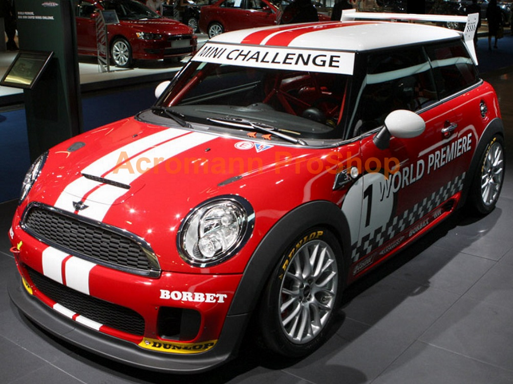 MINI JCW CHALLENGE Style Roof-top Stripes x 1 pair (middle)