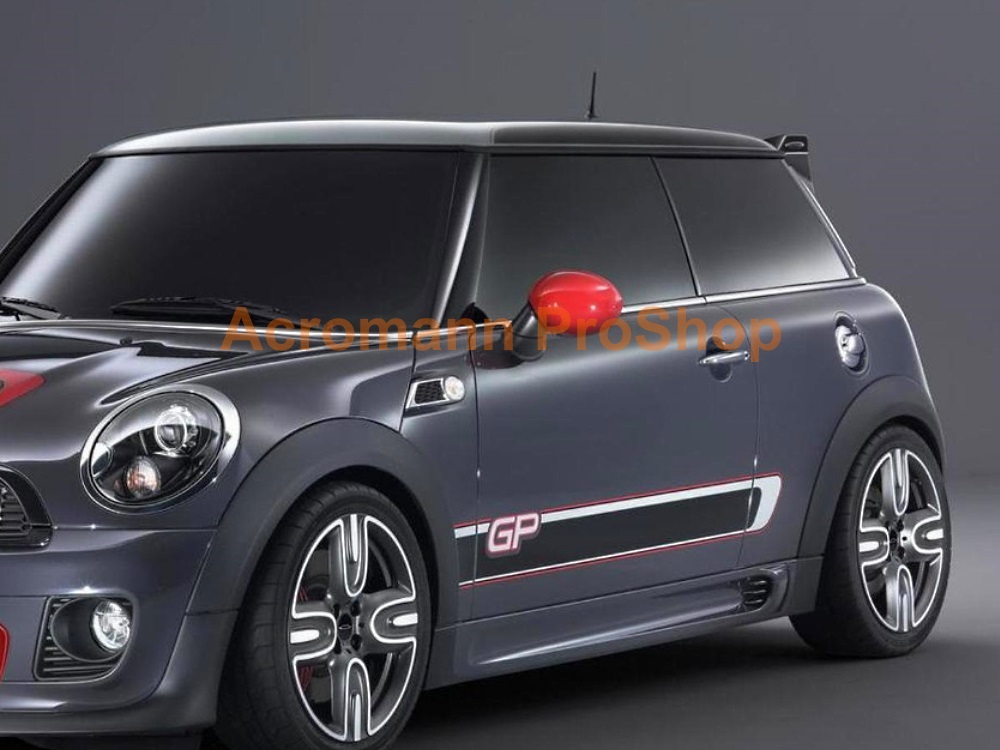 Mini Cooper S JCW R56 GP2 Side Stripe Door Decal x1pair(LHS&RHS)