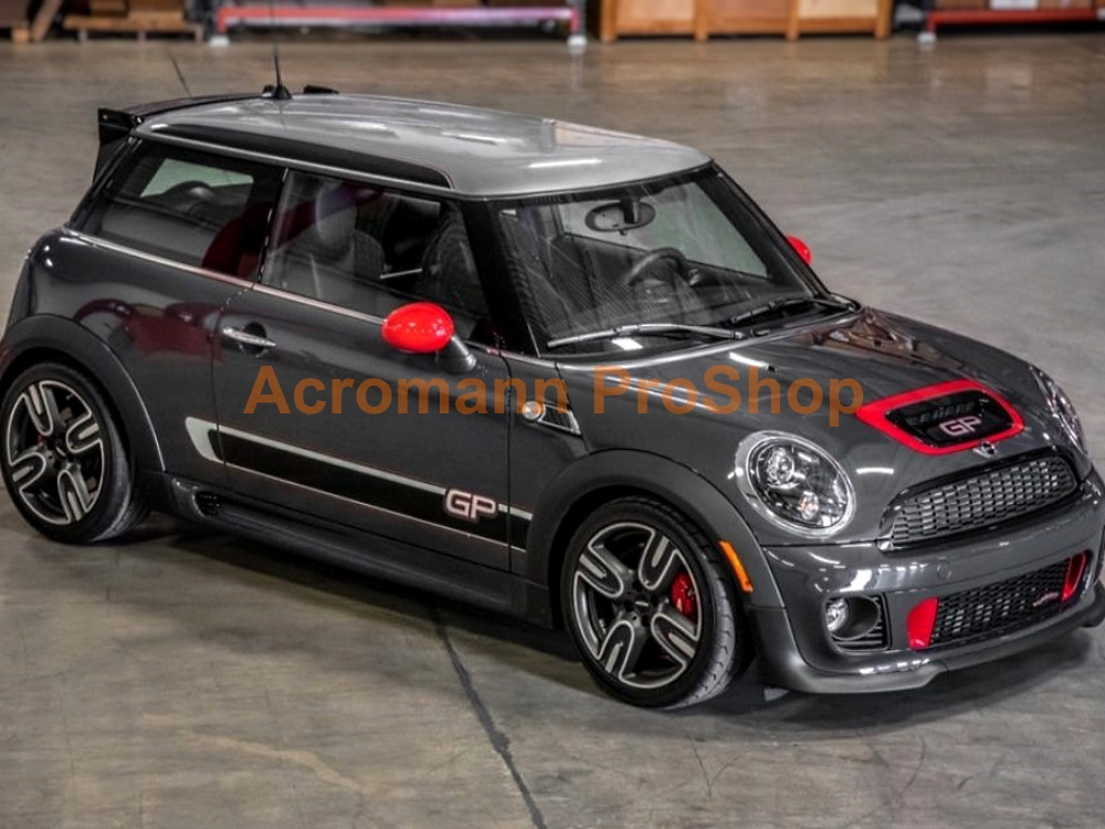 Mini Cooper S JCW R56 GP2 Roof-top Stripe Decal Sticker x 1 pair