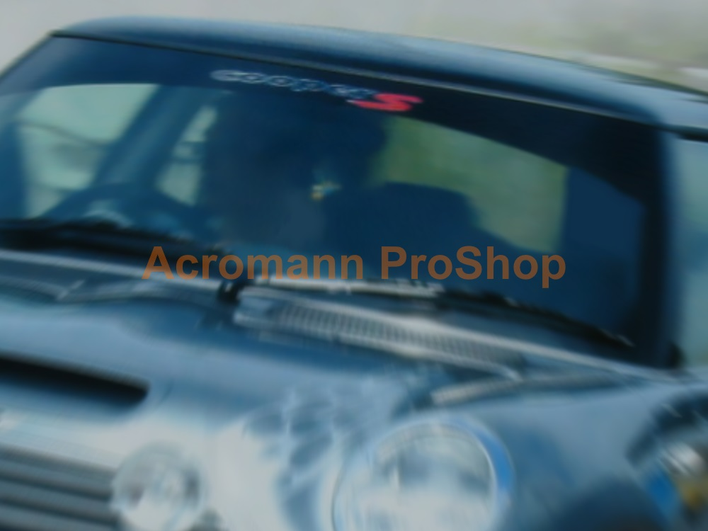 Mini Cooper S Windshield Decal (Style#2)