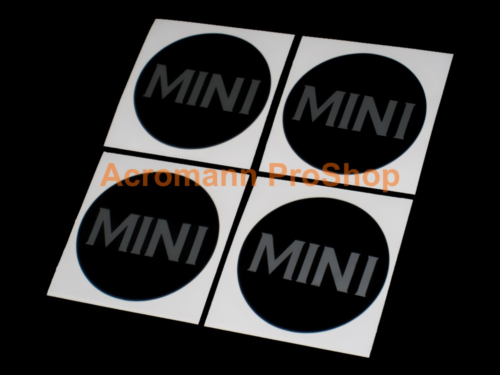 Mini Cooper MINI 2inch Wheel Cap Decal (Style#2) x 4 pcs