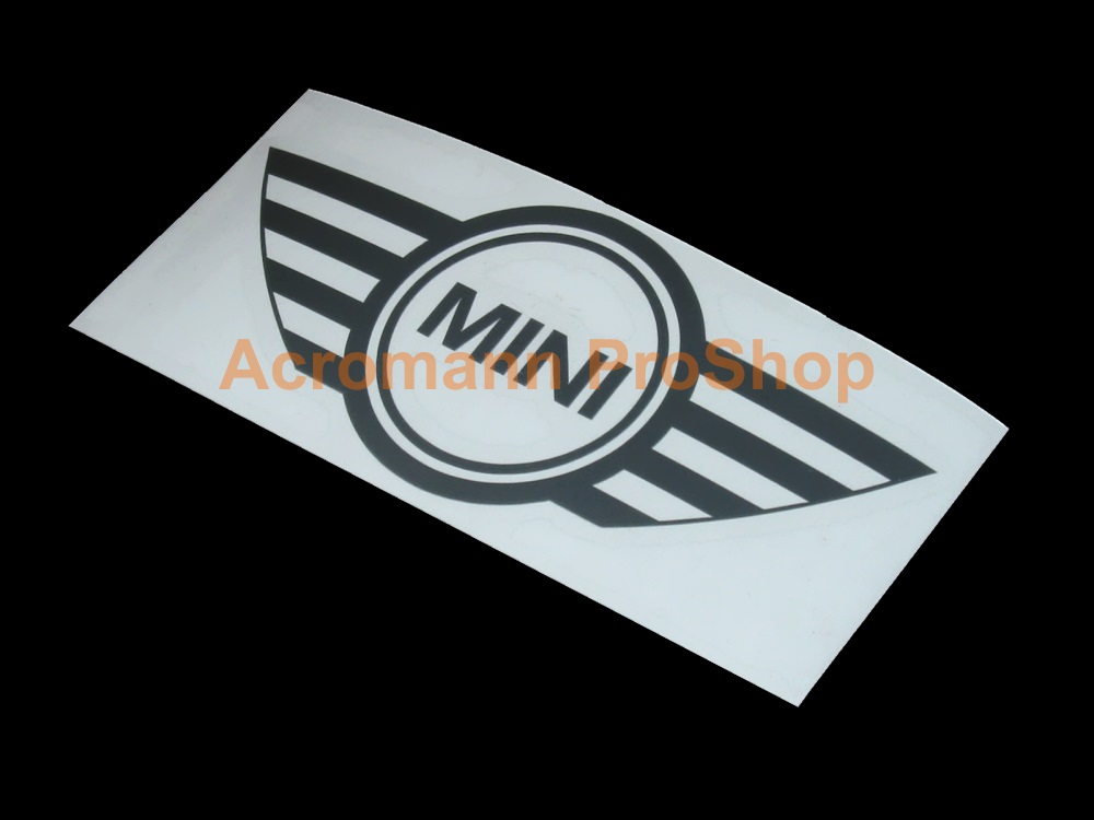 Mini cooper logo 4inch decal style1 x 2 pcs