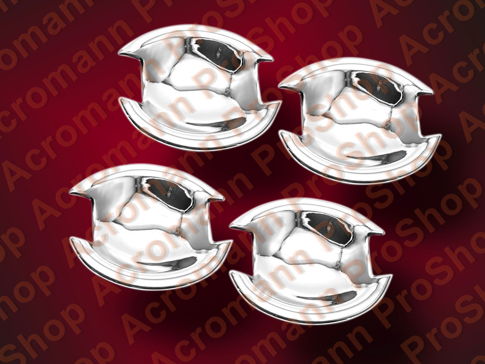 Chrome Door Handle Bowls for Mitsubishi LANCER & Evo