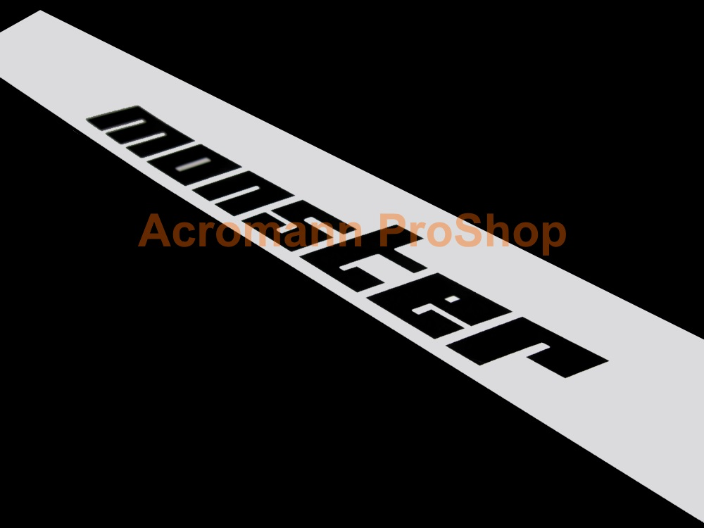 Monster Sport Windshield Decal (Style#2)