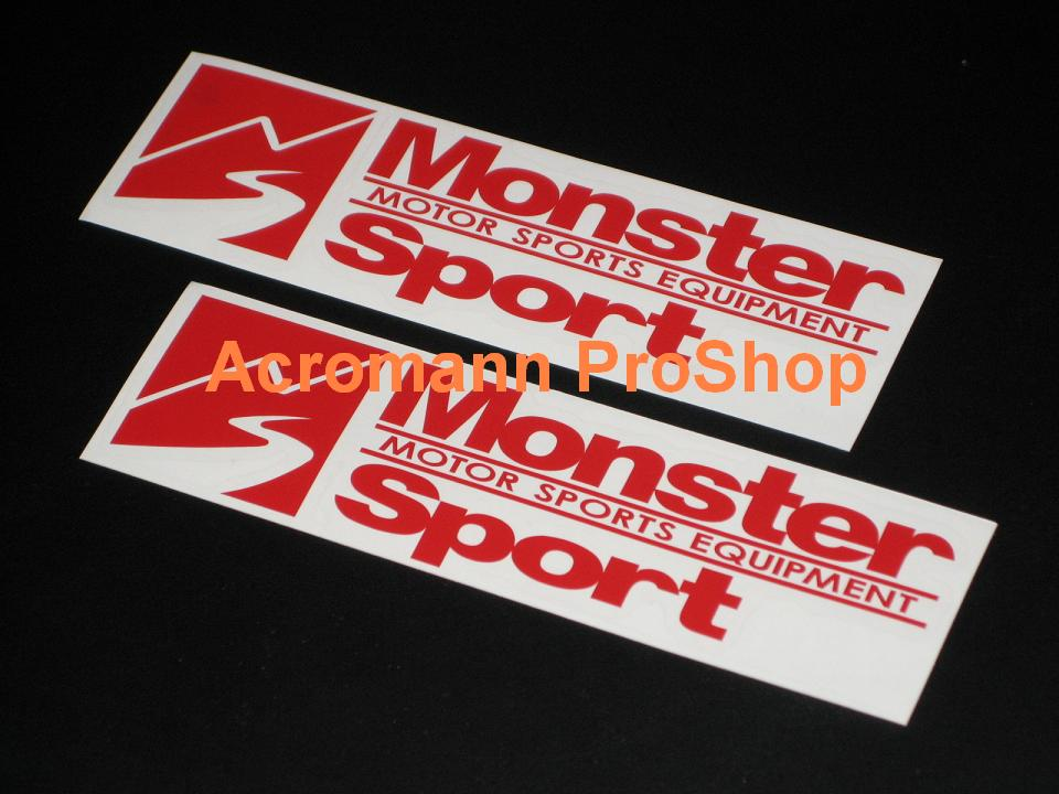 Monster Sport 6inch Decal (Style#1) x 2 pcs