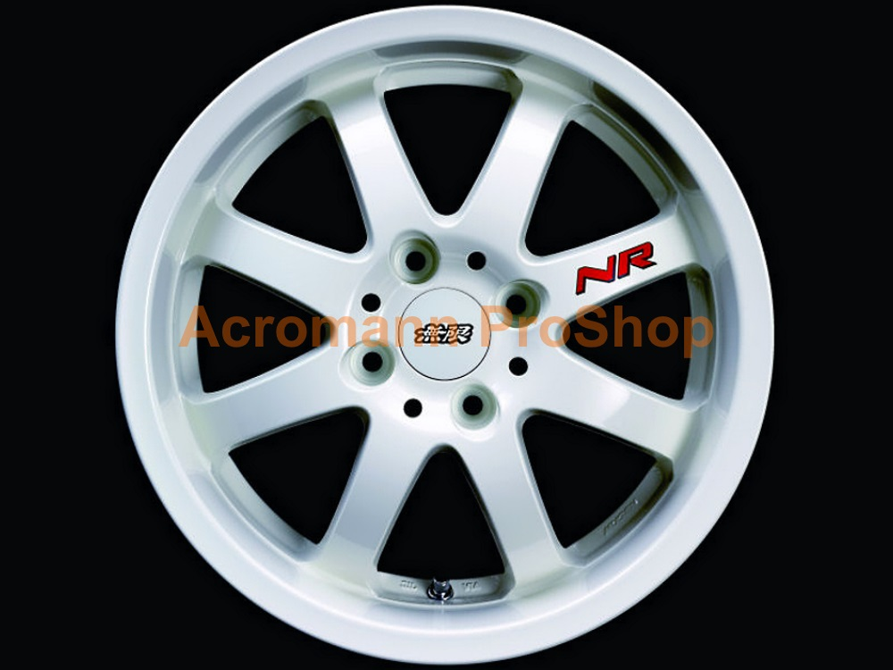MUGEN NR 2inch Alloy Wheel Decal x 4 pcs