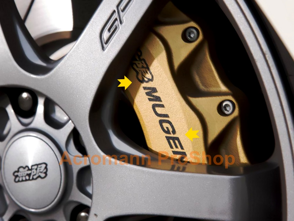 MUGEN 4inch Brake Caliper Decal (Style#1) x 2 pcs