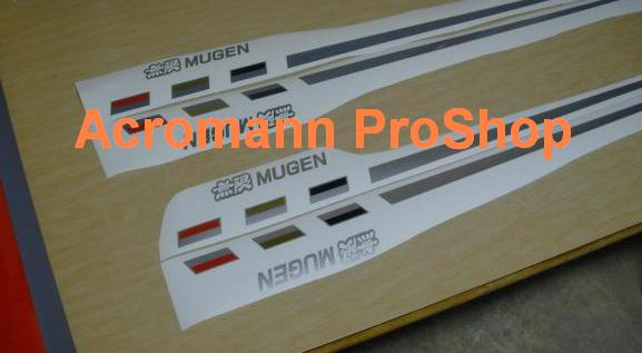 MUGEN Power Side Stripe Decal (Style#2) x 1 pair